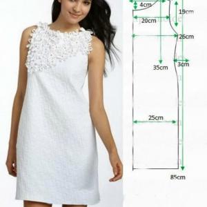 бесплатно платьев выкройки простые