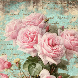 Открытки винтажные с цветами