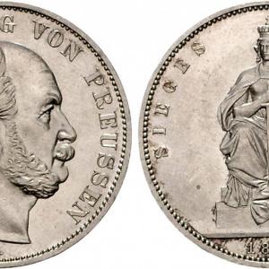 Победные талеры 1871 года 10 стотинки 1962 года цена
