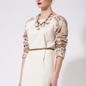 Реглан шитье платье