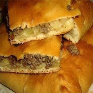Пирог с мясом «Легче не бывает»
