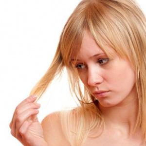 Народные средства лечения кончиков волос