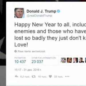 Дональд Трамп поздравил …