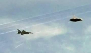 В сеть утекло видео перехвата НЛО двумя истребителями F/A-18 Super Hornets