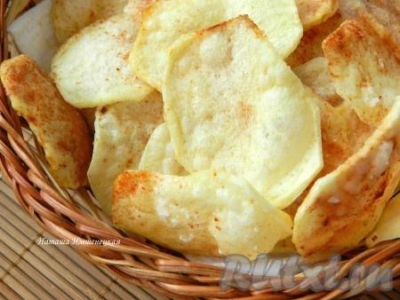 Как приготовить чипсы в …