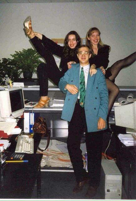 Сергей Мавроди, офис МММ, начало 90-х.