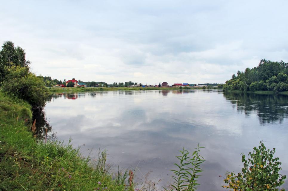 Красноярский край, река Кан.