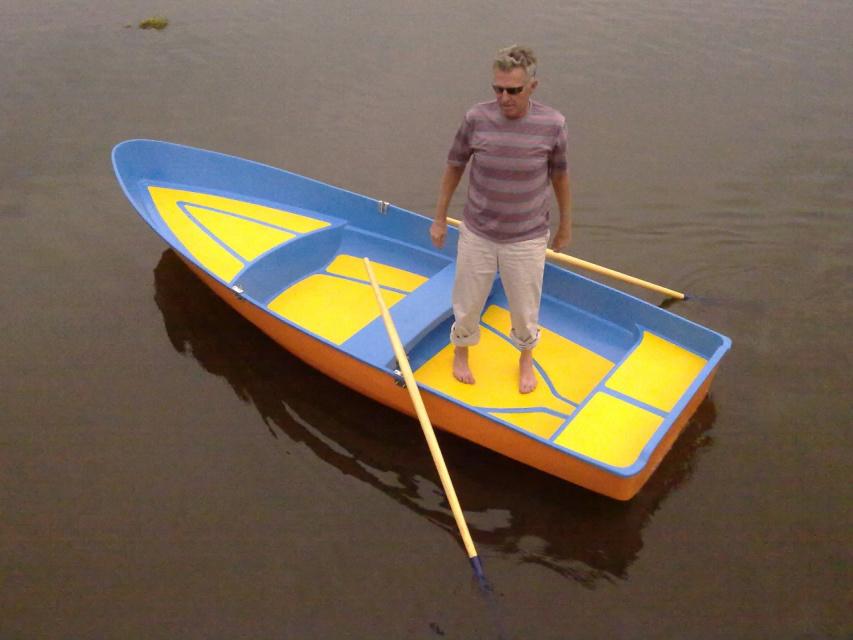 гребную лодку сделать