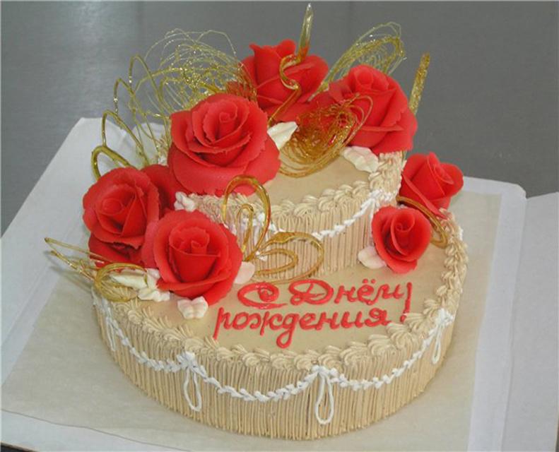 Торт - С Днем Рождения!