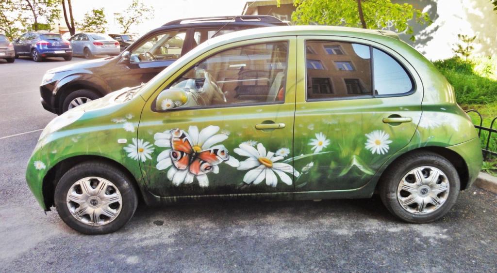 Вот что делает весна .....