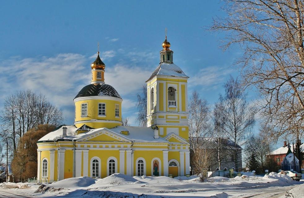 Церковь в  Бологое ....