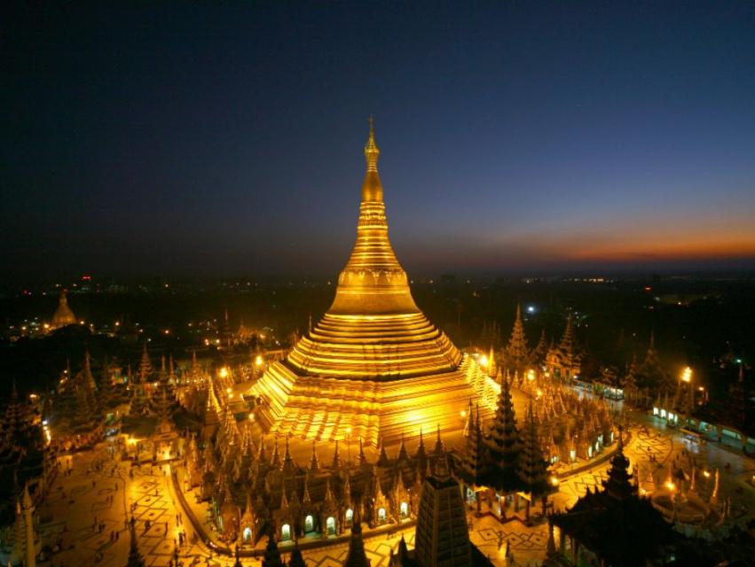 Пагода Шведагон. Золотое сердце Мьянмы