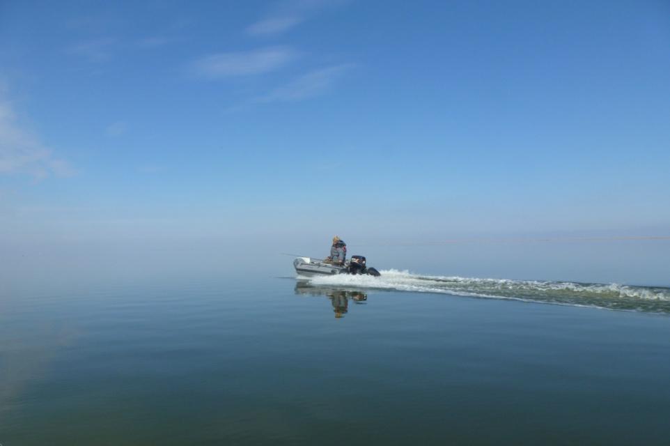 Седой Каспий