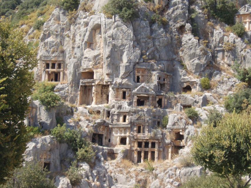В Турции - др.Ликия