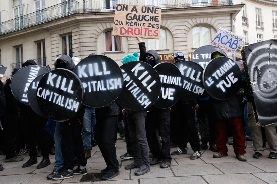 Убить капитализм!