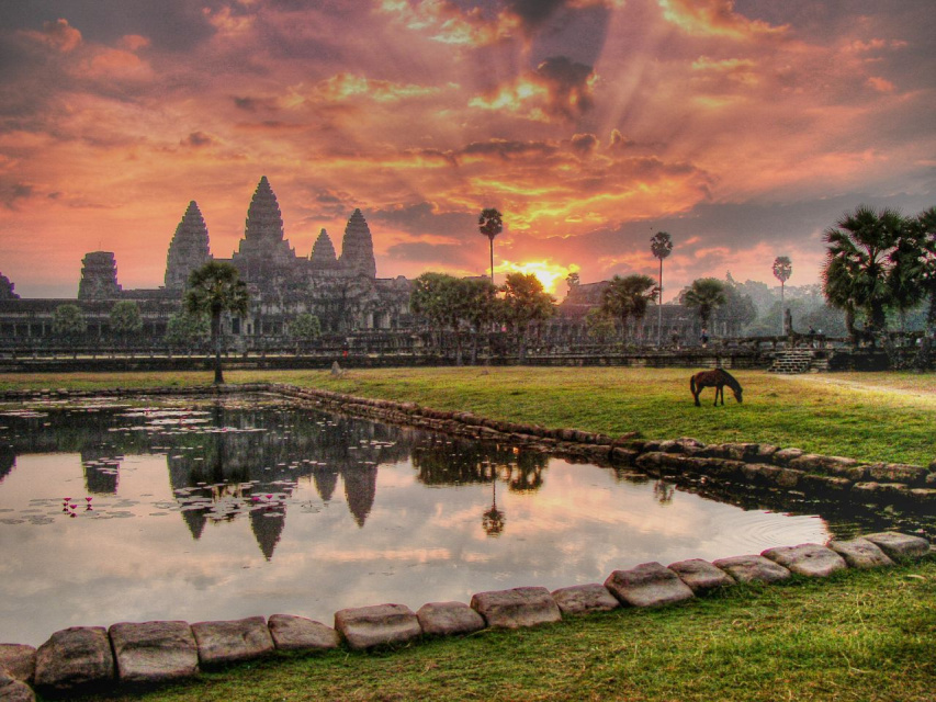 Ангкор-Ват. Чудо Камбоджи
