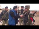 دقائق ناريةعلى الخطوط الأولى خلال العمليةالعسكريةعلى جبهات ريف حماةالشمالي الشرقي وريف إدلب الجنوبي