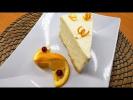 Апельсиновый  чизкейк | Десерт без выпечки