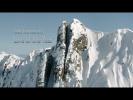 Лыжник спустился с невероятной горы