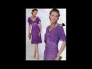Вязаное платье (модели выполнены крючком)