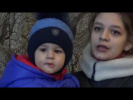Флешмоб в Донецке.  От героев былых времён