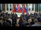 Пресс-конференция с Реджепом Тайипом Эрдоганом
