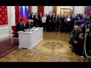 Пресс-конференция по итогам российско-словенских переговоров