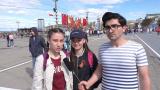 9 мая -  Опрос молодежи, проверка знаний истории