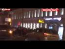 Суперкары столкнулись в Москве в гонке на 270 км ч