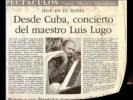 Luis Lugo Piano de Cuba Tour Europa Perla marina Moscu 2009
