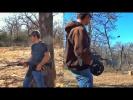 Сайга-12, стрельба очередью | Разрушительное ранчо | Перевод Zёбры