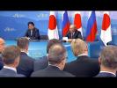 Press statements following Russian-Japanese talks