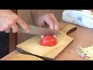 Розочки из помидора