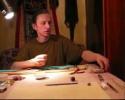 А. Кучменёв. Мастер класс по бисерной вышивке часть3.