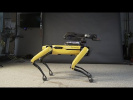 Горячий танец робота от Boston Dynamics
