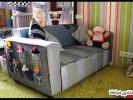 Модные поделки для дома - коврики, покрывала и чехлы из старых джинсов