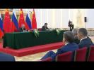 Заявление для прессы по итогам российско-китайских переговоров
