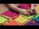 Одеяло из кусков ткани