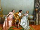 """""""Ах,женщины.."""" в картинах Витторио Реджианини."""
