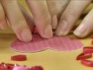 Hand made: магнит-сердечко в технике квиллинга