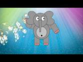 Детский клип - Добрые слоны
