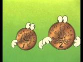 Веселые задачки 1/04 Монеты.Фрагменты
