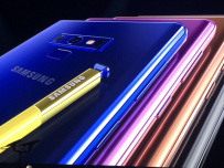 Samsung Galaxy Note 9 против iPhone X