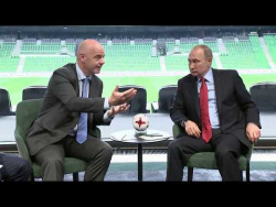 Встреча с президентом ФИФА Джанни Инфантино
