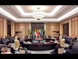 Неформальная встреча лидеров стран БРИКС