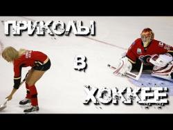 Приколы в хоккее! ( Курьезы, голы, юмор )  fun in hockey