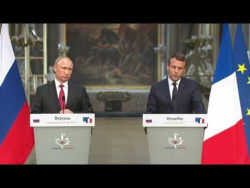 Joint press conference with President of France Emmanuel Macron