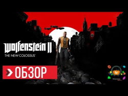 ОБЗОР Wolfenstein 2 The New Colossus (Review)