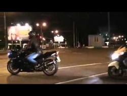 Акция в поддержку мотоциклиста Александра Затонского