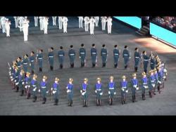 Выступление первой роты в Базеле.